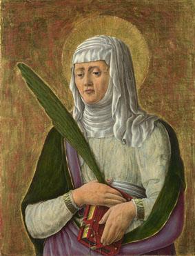 Giorgio Schiavone: 'A Female Saint'
