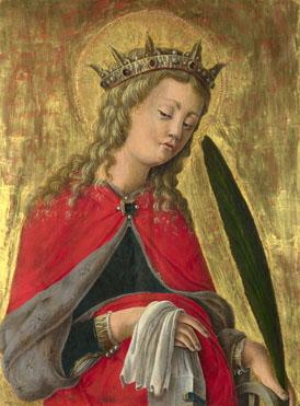 Giorgio Schiavone: 'Saint Catherine'