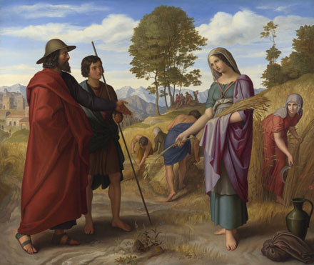 Julius Schnorr von Carolsfeld: 'Ruth in Boaz's Field'