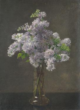 Otto Franz Scholderer: 'Lilac'