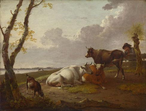 Heinrich Wilhelm Schweickhardt: 'Cattle'