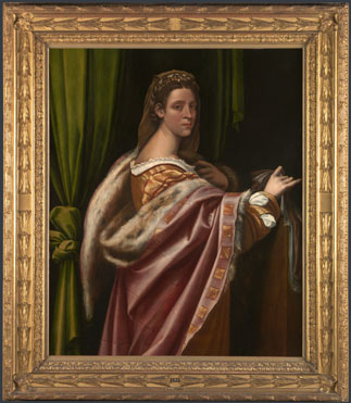 Sebastiano del Piombo: 'Portrait of a Lady'
