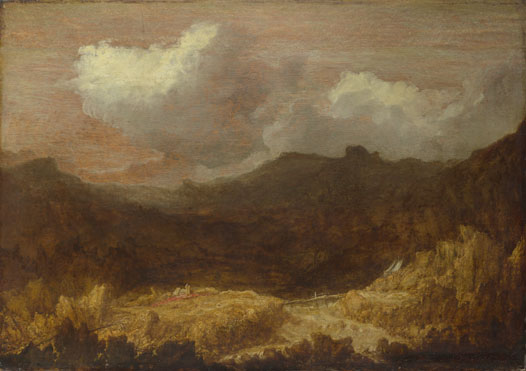 Imitator of Hercules Segers: 'A Mountainous Landscape'