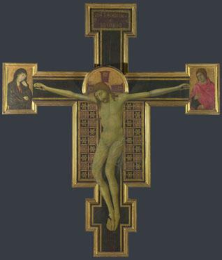 Style of Segna di Bonaventura: 'Crucifix'