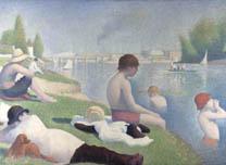 Georges Seurat, Bathers at Asnières