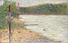 A River Bank (The Seine at Asnières)