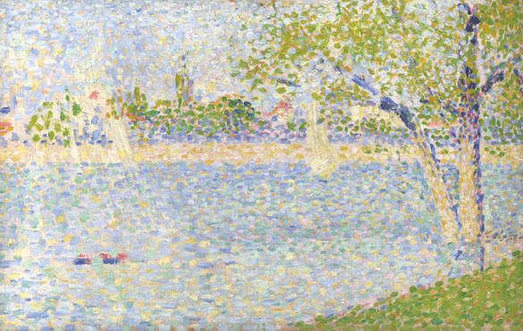 Georges Seurat: 'The Seine seen from La Grande Jatte'