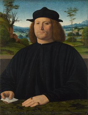 Andrea Solario: 'Giovanni Cristoforo Longoni'