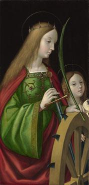Antonio de Solario: 'Saint Catherine of Alexandria'