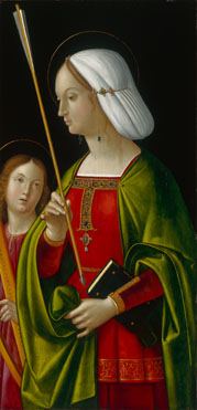 Antonio de Solario: 'Saint Ursula'