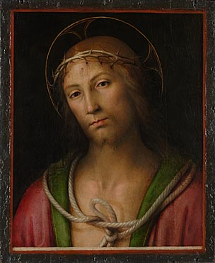 Attributed to Lo Spagna: 'Christ Crowned with Thorns'