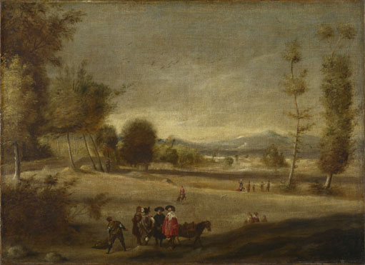 Spanish: 'Landscape with Figures'