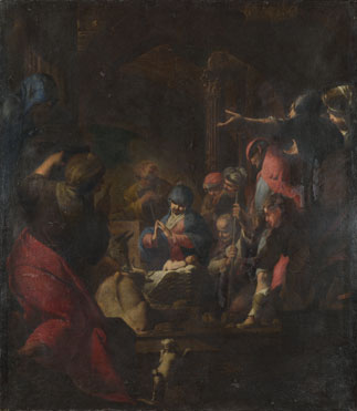 Giovanni Battista Spinelli: 'The Adoration of the Shepherds'