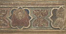 Decorative Border with a Seraph and Saint Catherine
