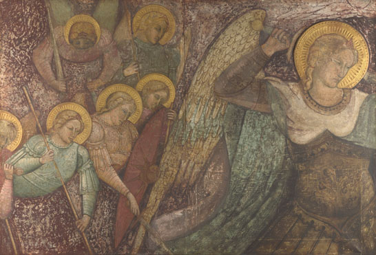 Spinello Aretino: 'Saint Michael and Other Angels'