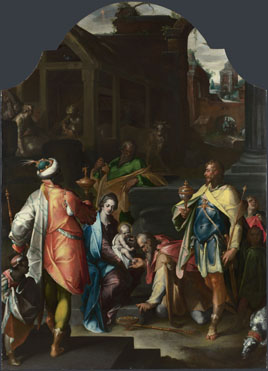 Bartholomaeus Spranger: 'The Adoration of the Kings'