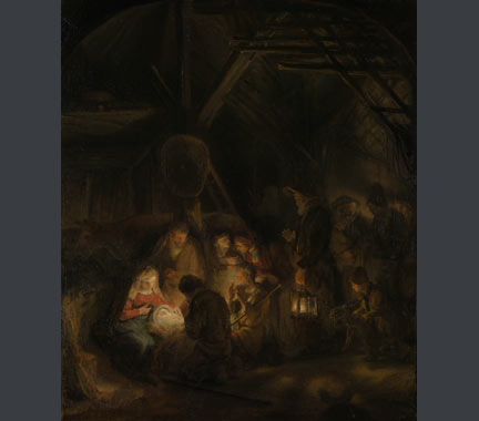 Studio of Rembrandt, 'The Adoration of the Shepherds', 1646