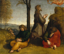Raphael, The Agony in the Garden, about 1504-5