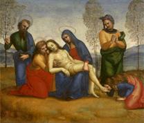 Raphael, Pieta, about 1504-5