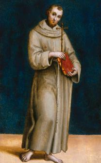 Raphael, Saint Francis, about 1504-5