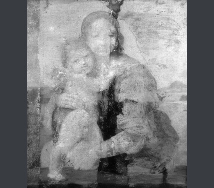 IRR from Raphael, The Madonna and Child