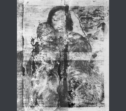 X-Ray from Raphael, The Madonna and Child