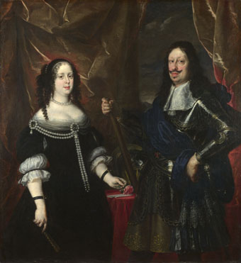 Justus Sustermans: 'The Grand Duke Ferdinand II of Tuscany and his Wife'