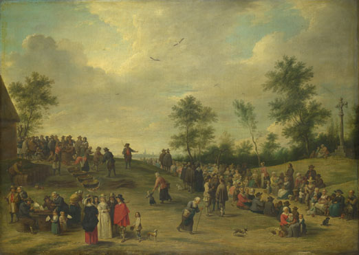 After David Teniers the Younger: 'A Country Festival near Antwerp'
