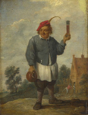 Imitator of David Teniers the Younger: 'Personification of Autumn (?)'