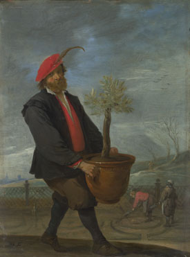 David Teniers the Younger: 'Spring'