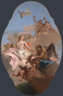 Giovanni Battista Tiepolo: 'An Allegory with Venus and Time'