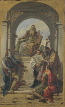 Giovanni Battista Tiepolo: 'Four Saints'