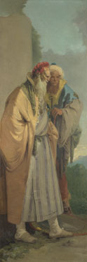 Giovanni Battista Tiepolo: 'Two Men in Oriental Costume'