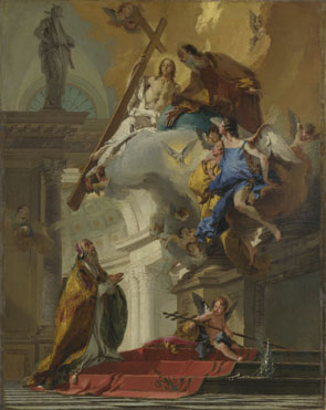Giovanni Battista Tiepolo: 'A Vision of the Trinity'