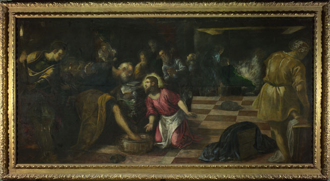 Jacopo Tintoretto: 'Christ washing the Feet of his Disciples'