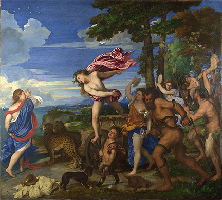 Titian, 'Bacchus and Ariadne', 1520-3