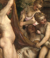 Titian, Diana and Callisto, 1556–9. Photo © The National Galleries of Scotland.