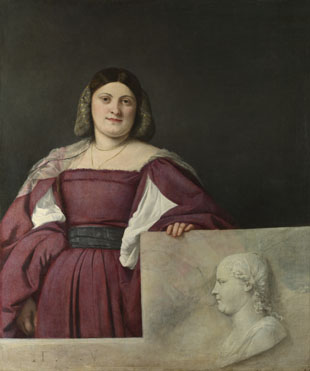 Titian: 'Portrait of a Lady ('La Schiavona')'