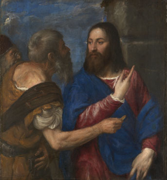 Titian: 'The Tribute Money'