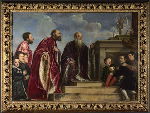 Titian: 'The Vendramin Family'