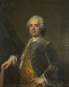 Louis Tocqué: 'Portrait of a Man'