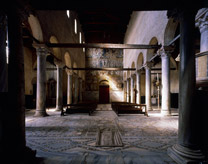The nave of Torcello Cathedral.