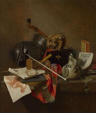 Jan Jansz. Treck: 'Vanitas Still Life'