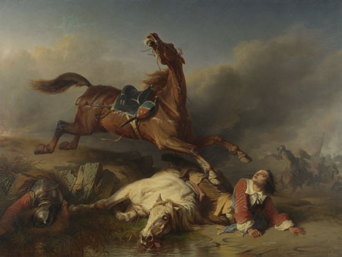 Charles-Philogène Tschaggeny: 'An Episode on the Field of Battle'