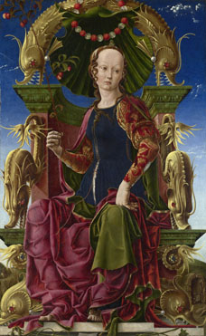 Cosimo Tura: 'A Muse (Calliope?)'
