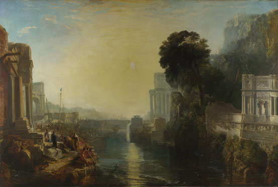 Joseph Mallord William Turner: 'Dido building Carthage'