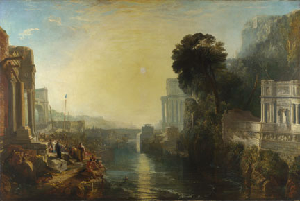 Joseph Mallord William Turner, 'Dido Building Carthage', 1815