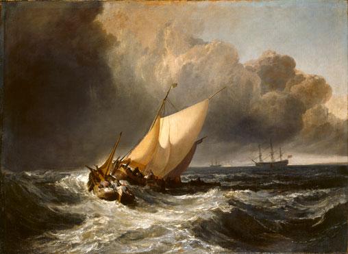 joseph mallord william turner dutch boats in a gale. Black Bedroom Furniture Sets. Home Design Ideas
