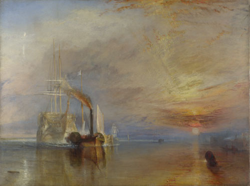 Joseph Mallord William Turner: 'The Fighting Temeraire'