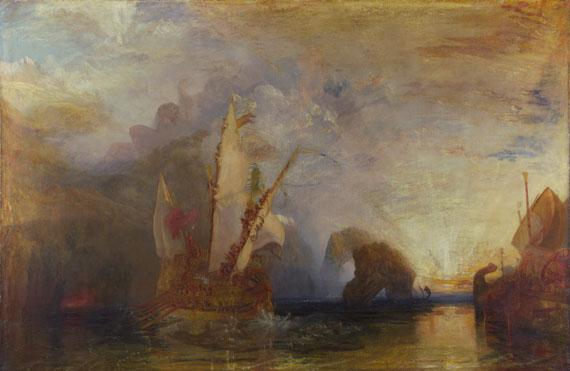 Joseph Mallord William Turner: 'Ulysses deriding Polyphemus- Homer's Odyssey'